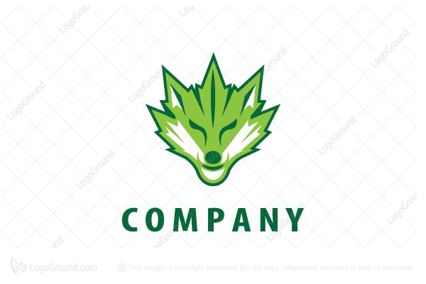 Logo for sale: Cannabis Fox Logo